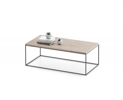 Table basse simple avec structure métallique