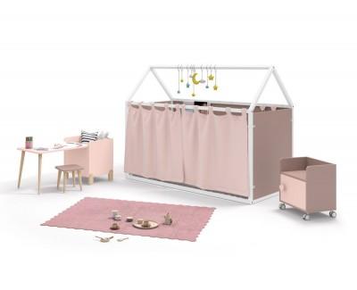 Table pour enfant avec coffre à jouets