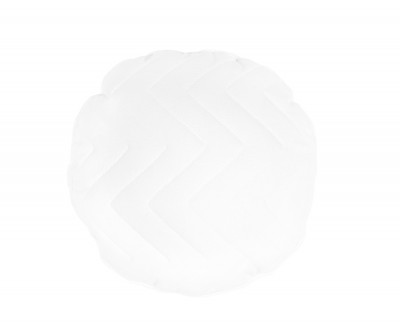 Oreiller décoratif rond 40 cm diamètre